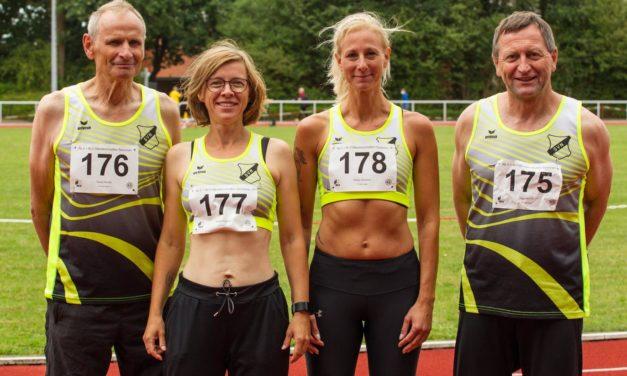 Leichtathletik Senioren bei der Landesmeisterschaft in Zeven