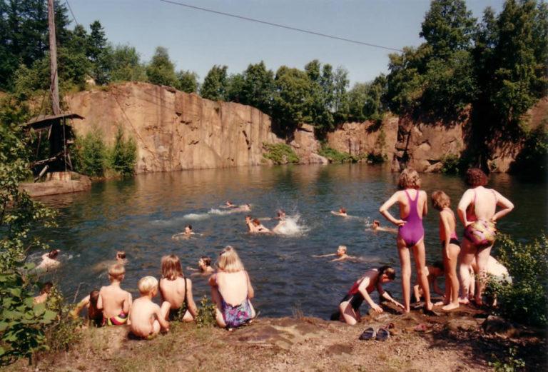 Bornhon - im Steinbruch