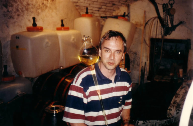 Weinprobe in Sümeg/Ungarn - Organisator Gerd Hampel